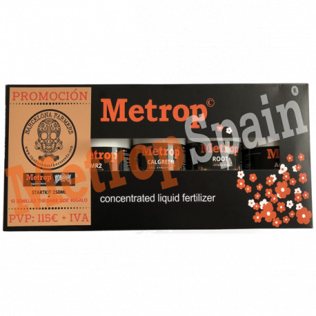 Pack Metrop Kushbrothers 250ml