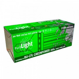 Pure Light CFL 200W GreenPower (2700K-6400K) Bajo Consumo
