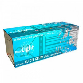 Pure Light CFL 200W Grow (6400K) Bajo Consumo