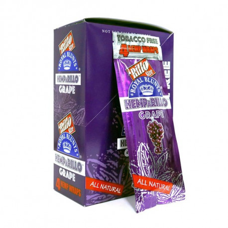 Hemparillo Royal Blunts Grape 15x4