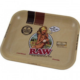 Bandeja Metalica Raw Girl Grande