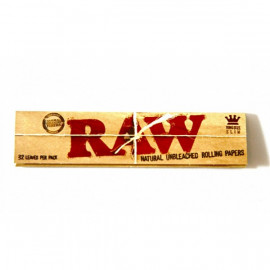 Raw Organic King Size Slim Display 50 Librillos de 32 hojas