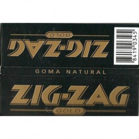 Zig-Zag Gold 1 1/4 Display 100 Librillos