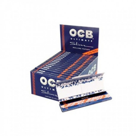 Ocb Ultimate King Size Slim + Tips Display 32 Librillos