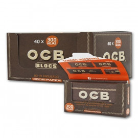 Ocb Virgin Bloc 300 Display 40 Librillos
