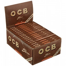 Ocb Virgin King Size Slim + Tips 32 Librillos 32 Tips