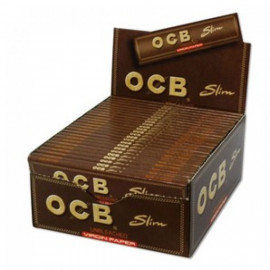 Ocb Virgin King Size Slim Display 50 Libritos