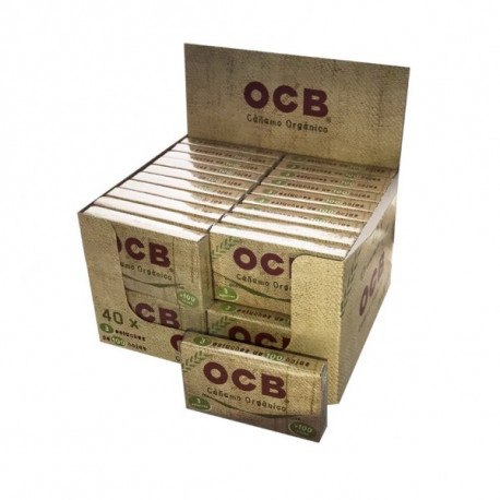 Ocb Organic Hemp Bloc 300 Display 40 Librillos