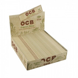 Ocb Organic Hemp KS Slim Display 50 Librillos