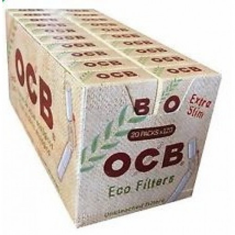 Filtros Ocb Eco Extra Slim Display 20 Cajitas