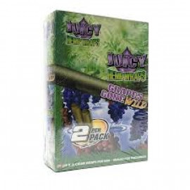 Juicy Hemp Wraps Grapes Gone Wild 25x2