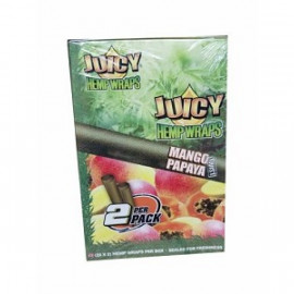Juicy Hemp Wraps Mango Papaya 25x2