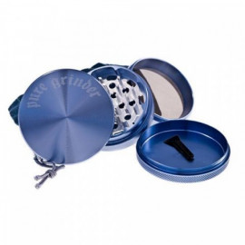 Pure Grinder 4 Partes 63MM Azul Magnetico