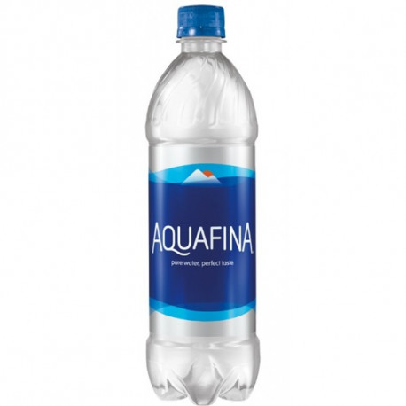 Botella Ocultacion Aquafina 710ml